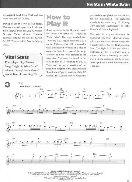 25 Great Flute Solos Audio Online Notove Prepisy Sol