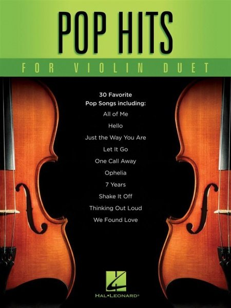 Pop Hits for Violin Duet / dueta pro housle