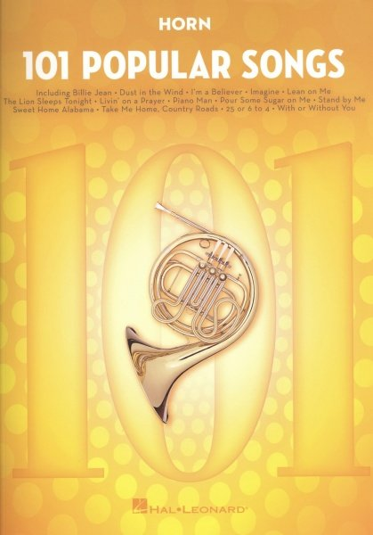 101 Popular Songs for Horn / lesní roh
