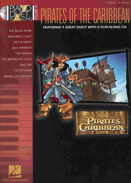 PIANO DUET PLAY-ALONG 19 - PIRATE OF THE CARIBBEAN + CD