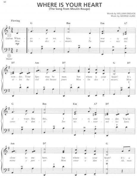 Hal Leonard Corporation FRENCH SONGS for ACCORDION - Clarina