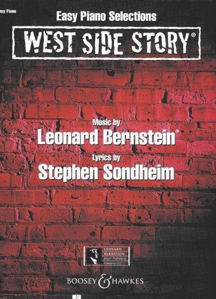 WEST SIDE STORY selection from musical      easy piano