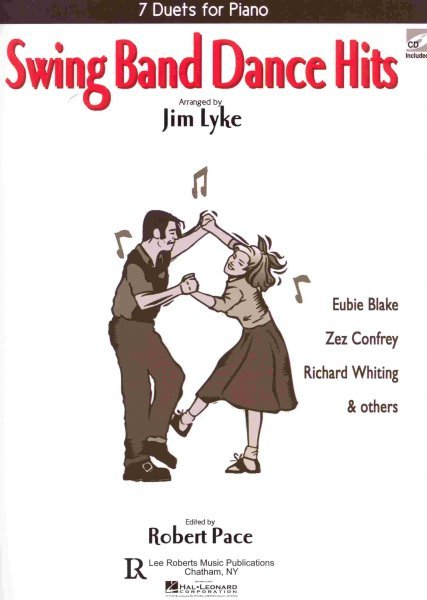 SWING BAND DANCE HITS + CD easy piano duets (1 piano 4 hands)