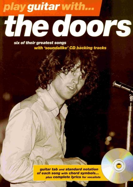 Hal Leonard Corporation Play Guitar With ..... THE DOORS + CD   vocal/guitar&tab