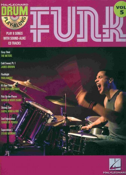 Hal Leonard Corporation DRUM PLAY-ALONG 5  -  FUNK + CD