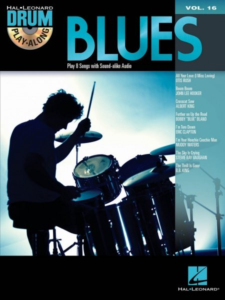 DRUM PLAY-ALONG 16 - BLUES DRUMS + CD