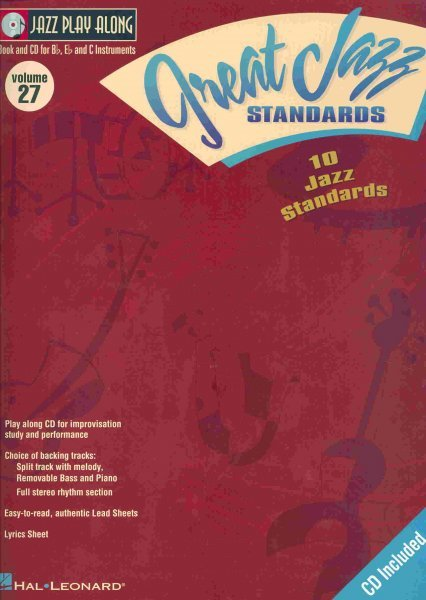 Jazz Play Along 27 - GREAT JAZZ STANDARDS + CD