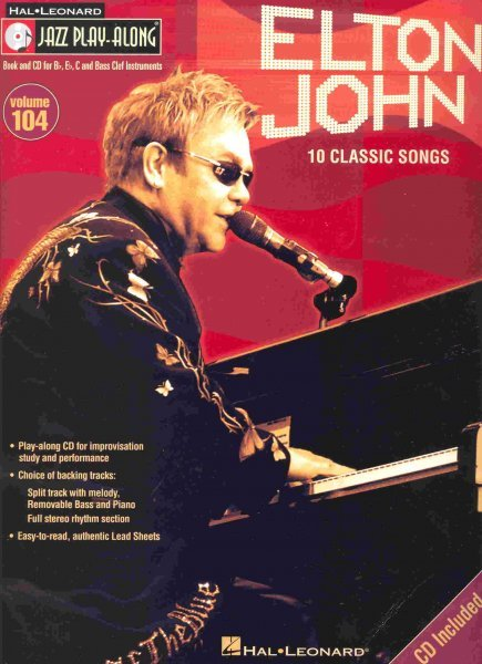 Jazz Play Along 104 - ELTON JOHN + CD