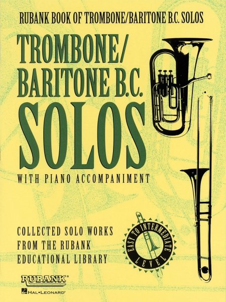 RUBANK Trombone Solos with Piano Accompaniment– Easy Level / trombon (pozoun) + klavír
