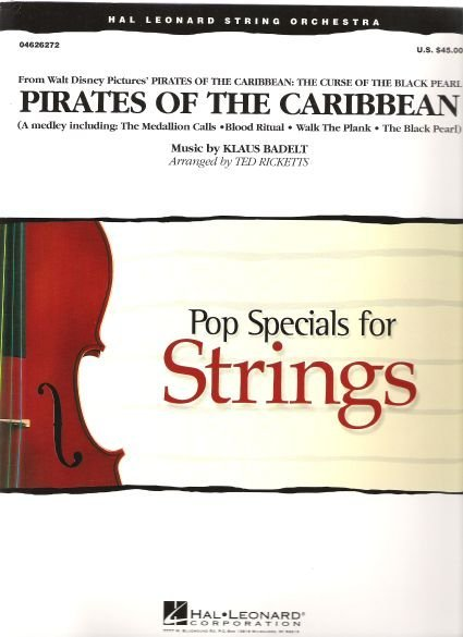PIRATES OF THE CARIBBEAN    string orchestra
