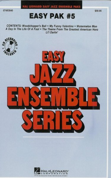 Hal Leonard Corporation EASY JAZZ BAND PAK 5 (grade 2) + Audio Online / partitura + party