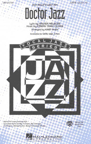 Hal Leonard Corporation DOCTOR JAZZ /  SATB* + piano/chords