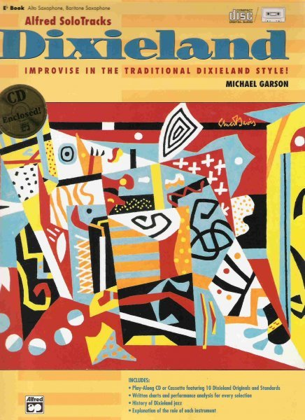 DIXIELAND (improvise in dixieland) + CD / Eb instrument