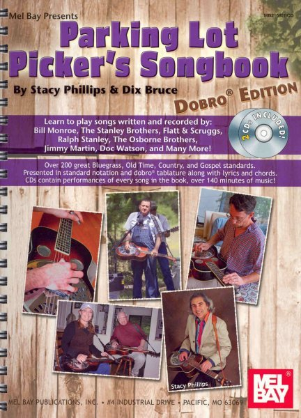 Parking Lot Picker's Songbook + Audio Online / dobro edition