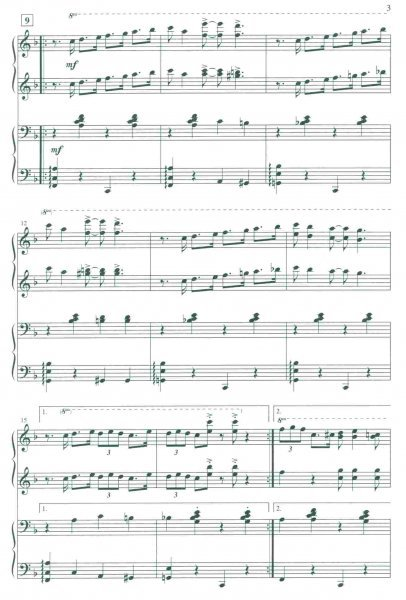 Handful of Keys (from the musical Ain't Misbehavin') / SATB* with 4-hand Piano