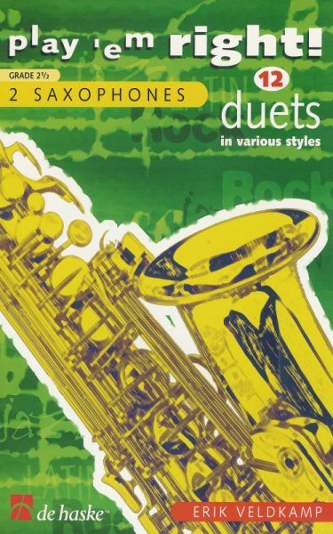 PLAY 'EM RIGHT!  -  12 DUETS    saxophones