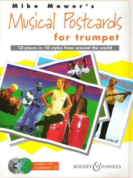 MUSICAL POSTCARDS + CD / trumpeta