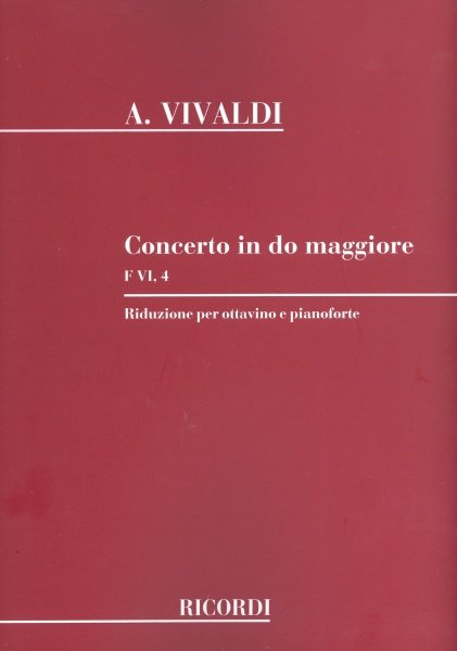 RICORDI Concerto in C Major (RV443) for Flute&Piano
