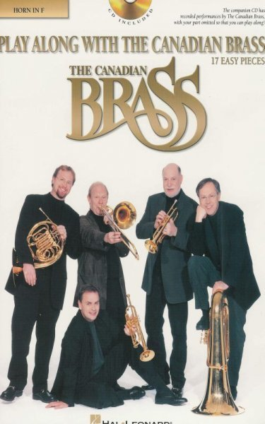Play Along with the Canadian Brass (easy) + Audio Online  lesní roh (f horn)
