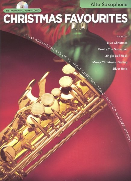 Hal Leonard Corporation Instrumental Play-Along - Christmas Favourites + CD / alto saxofon
