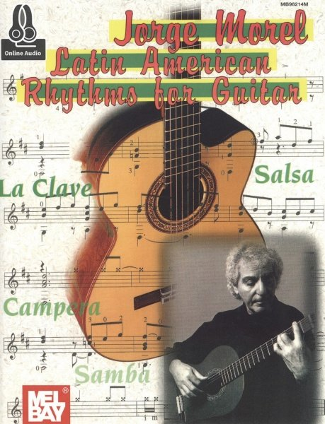 Latin American Rhythms For Guitar + Audio Online / kytara + tabulatura