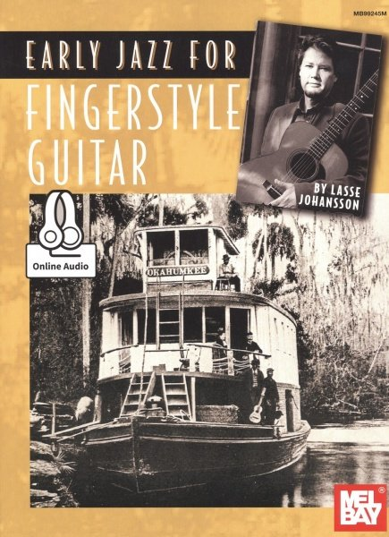 Early Jazz for Fingerstyle Guitar + Audio Online / kytara + tabulatura