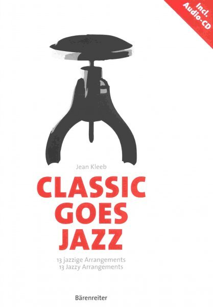 Editio Bärenreiter CLASSIC GOES JAZZ + CD - 13 jazzy arrangements for  piano