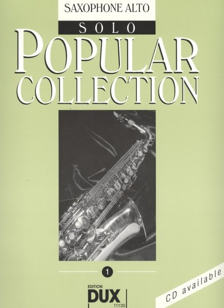 POPULAR COLLECTION 1 / sólový sešit - altový saxofon