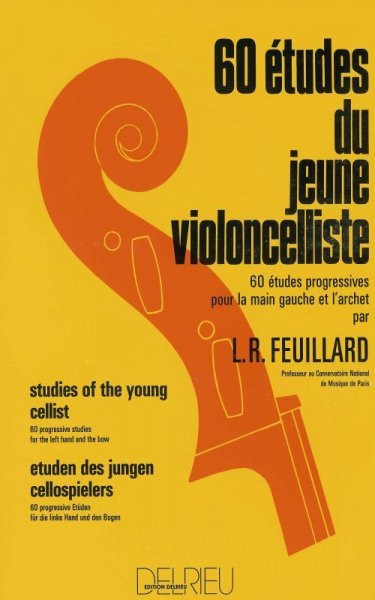 60 ETUDES FOR THE YOUNG CELLIST- FEUILLARD / violoncello