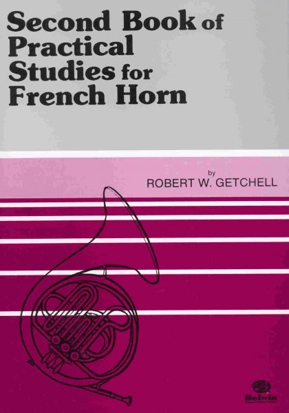 Practical Studies for French Horn 2 by Robert W. Getchell / lesní roh