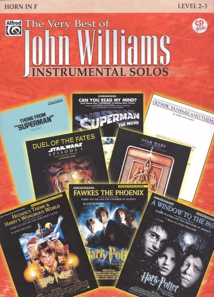 The Very Best of John Williams - Instrumental Solos + CD / lesní roh