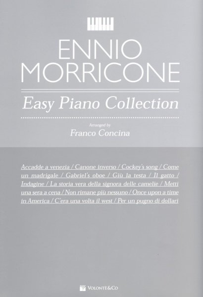 Volonte&Co. s.r.l. ENNIO MORRICONE: Easy Piano Collection