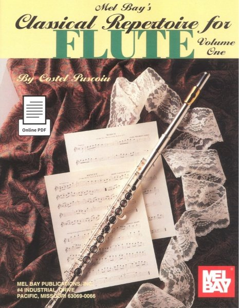 Classical Repertoire for FLUTE 1 / flute + piano