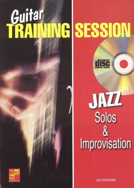 Play Music Publishing Guitar Training Session - JAZZ Solos&Improvization + CD / kytara + t