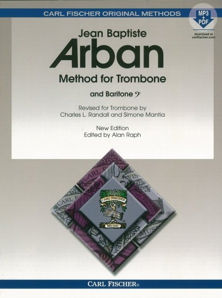 ARBAN - Famous Method for Trombone (and Baritone) + Audio Online / Škola hry na pozoun (trombon) a baryton (baritone)