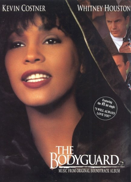 ALFRED PUBLISHING CO.,INC. Whitney Houston - The BODYGUARD (music from the movie) - piano/