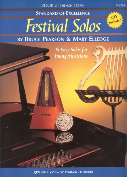 Standard of Excellence: Festival Solos 2 + CD / lesní roh (f horn)