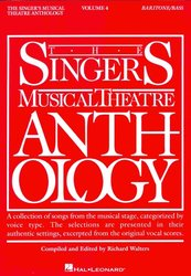 The Singer's Musical Theatre Anthology 4 - baritone/bass