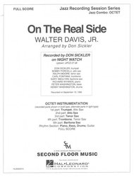 ON THE REAL SIDE (JAZZ OCTET) / partitura