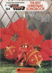 Hal Leonard Corporation EZ PLAY TODAY 164 -  BEST CHRISTMAS SONGBOOK / melodická linka - v