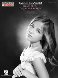 Jackie Evancho: Songs From The Silver Screen - klavír / zpěv / akordy