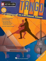 Hal Leonard Corporation JAZZ PLAY ALONG 175 - TANGO (10 favorites songs) + CD