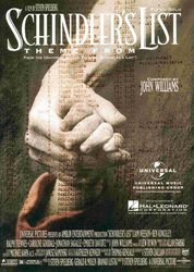 SCHINDLER'S LIST, theme from motion picture    piano solo