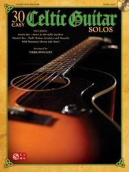 Cherry Lane Music Company 30 Easy Celtic Guitar Solos + CD / kytara + tabulatura