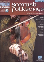 VIOLIN PLAY-ALONG 54 - SCOTTISH FOLKSONGS + Audio Online