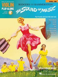 VIOLIN PLAY-ALONG 56 - THE SOUND OF MUSIC + Audio Online