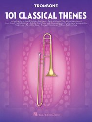 101 Classical Themes for Trombone / pozoun (trombon)