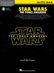 STAR WARS: THE FORCE AWAKENS + Audio Online / altový saxofon
