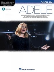 Instrumental Play-Along: Adele + Audio Online / housle