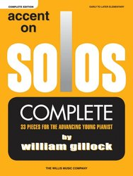Gillock: ACCENT ON SOLOS - Complete edition (1-3)